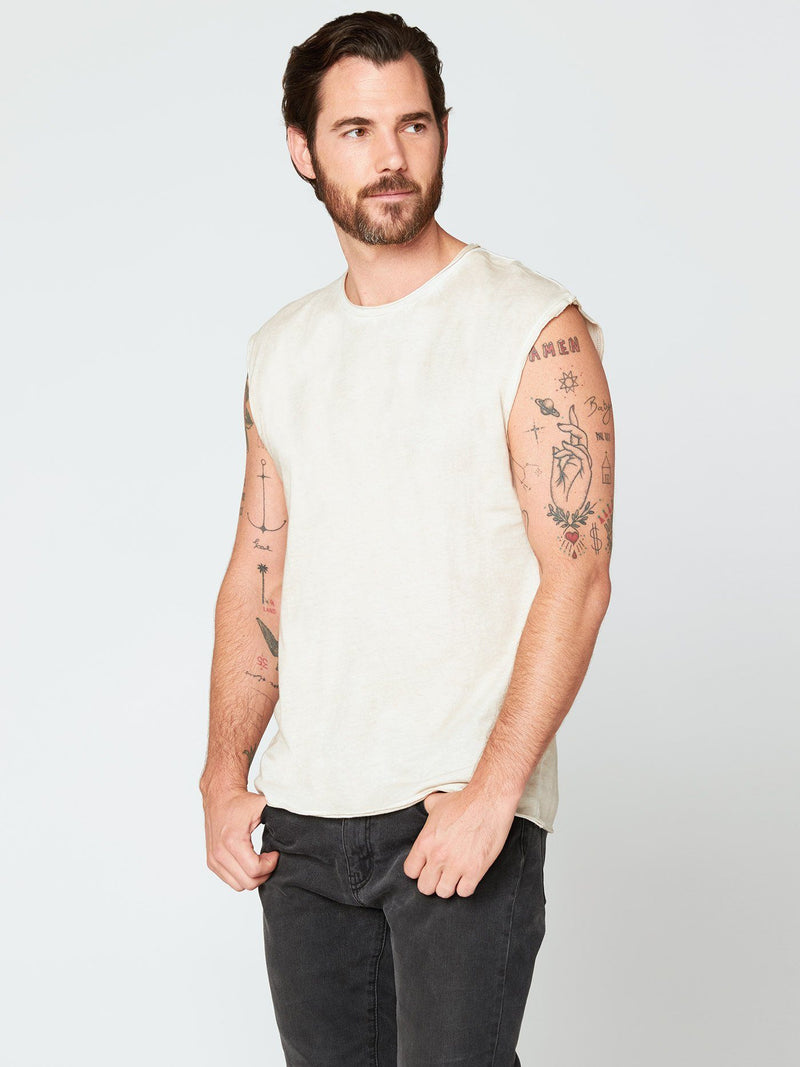 Bone Tank Mens Tops Threads 4 Thought
