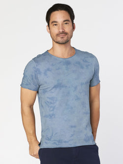 Fabian Tee Mens Tops Threads 4 Thought S Blue Mirage
