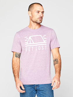 Get Lost Tee Mens Tops Threads 4 Thought S Lavender