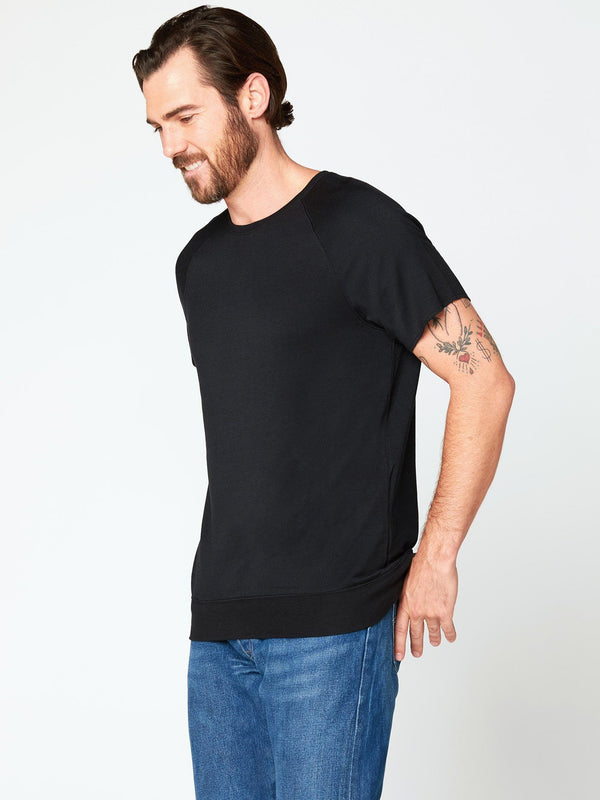 Jonas Raglan Tee Mens Tops Threads 4 Thought S Black