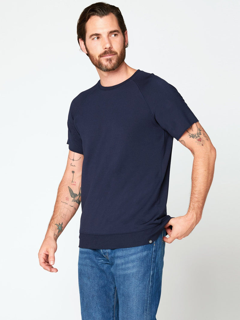 Jonas Raglan Tee Mens Tops Threads 4 Thought S Raw Denim