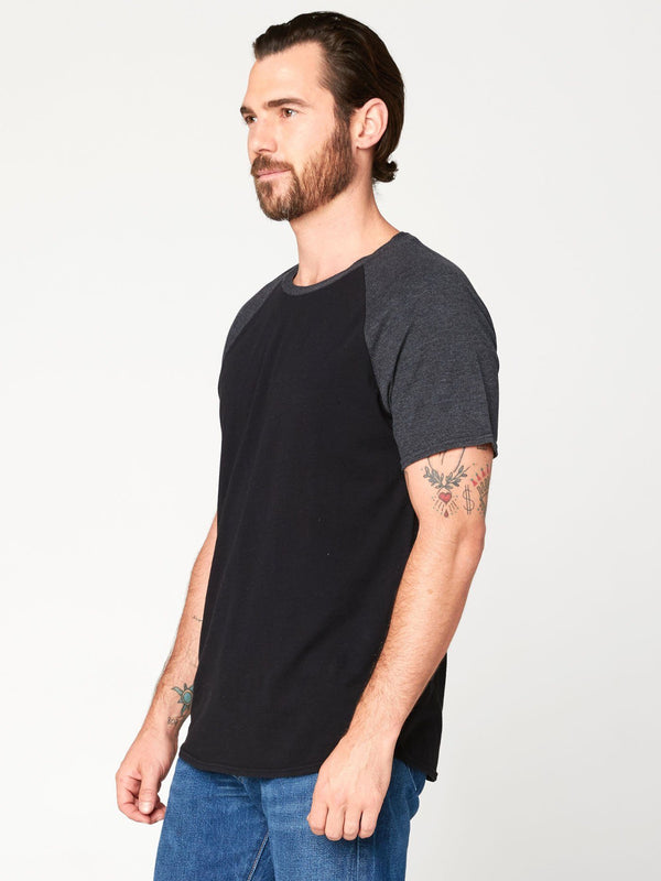 Contrast Raglan Tee Mens Tops Threads 4 Thought