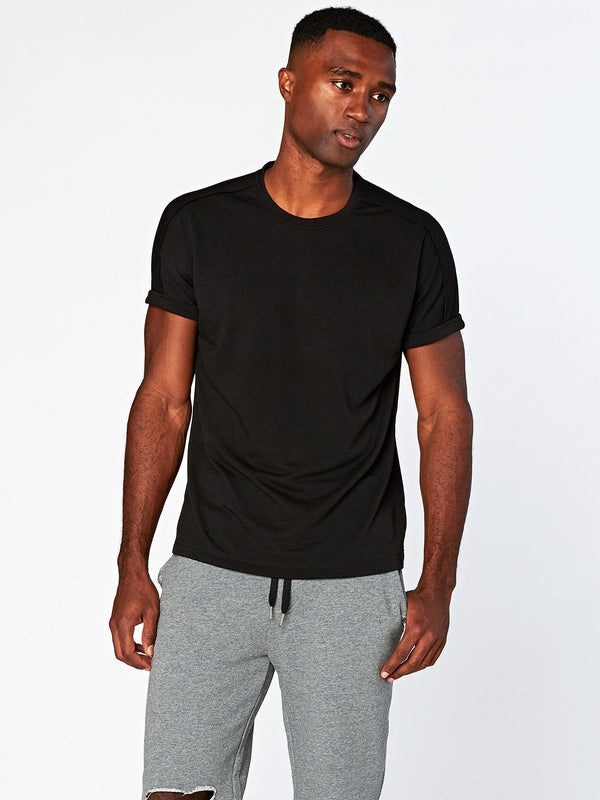 Steele Tee Mens Tops Threads 4 Thought S Black