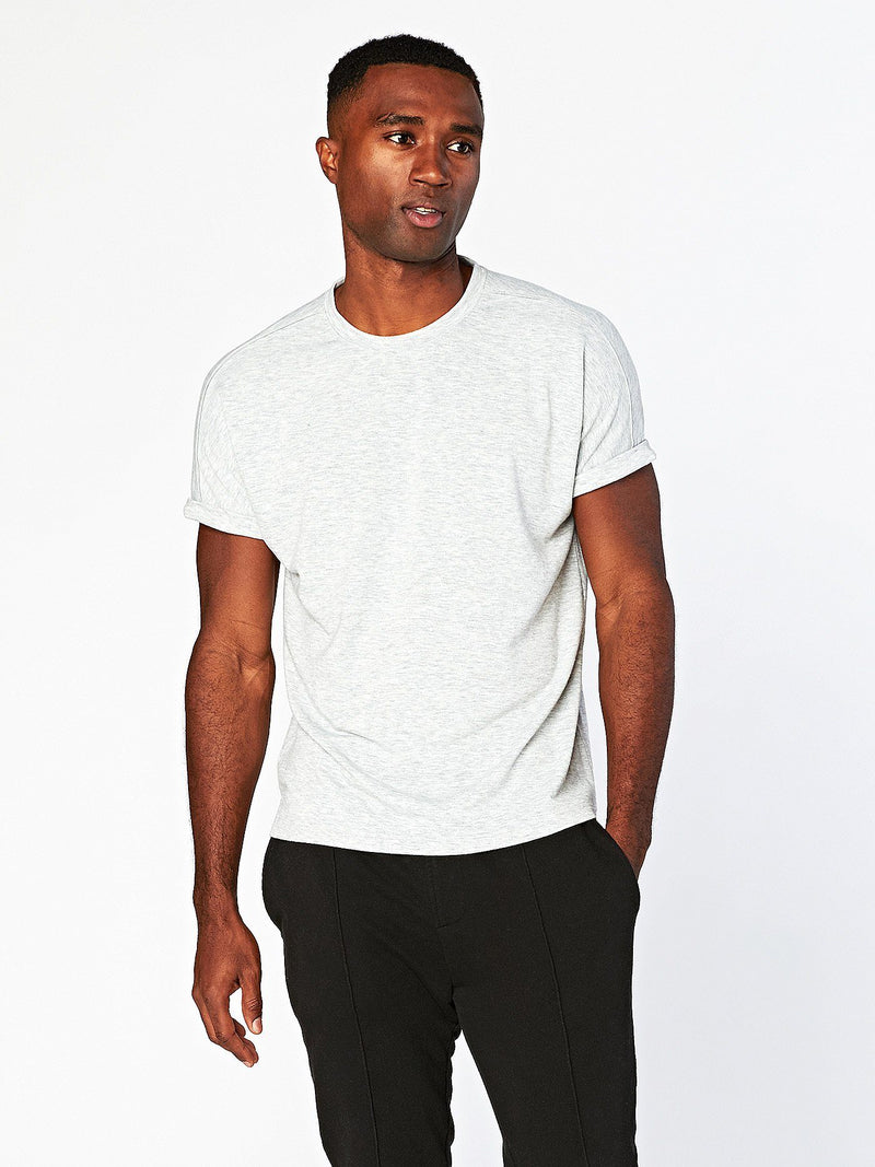 Steele Tee Mens Tops Threads 4 Thought S Heather Grey