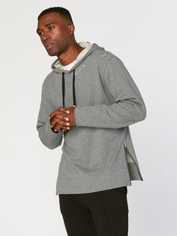 Brandon Hoodie Mens Outerwear Sweatshirt Threads 4 Thought S Heather Grey