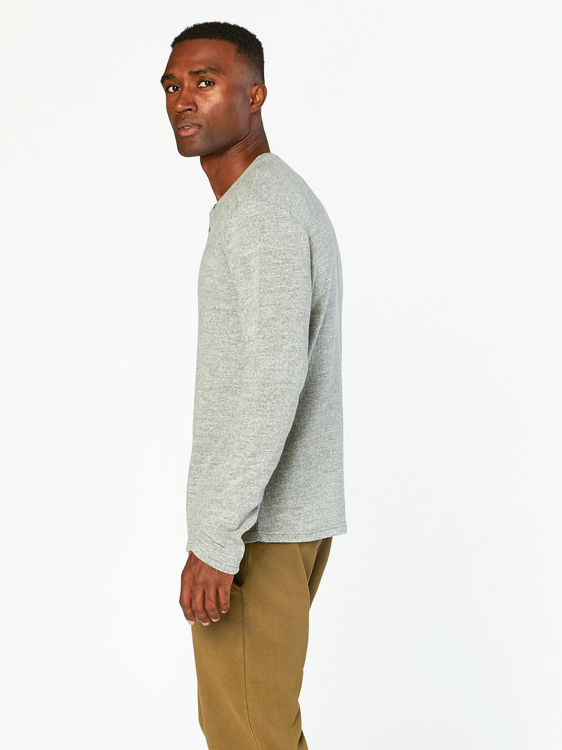Cannon Sweater Henley Mens Tops Threads 4 Thought