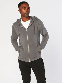 Brick Hoodie Mens Outerwear Sweatshirt Threads 4 Thought S Industrial Grey