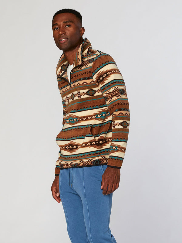 Navajo Half Zip Mens Outerwear Sweatshirt Threads 4 Thought