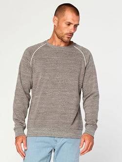 Kit Triblend Pullover Mens Outerwear Sweatshirt Threads 4 Thought S Heather Grey