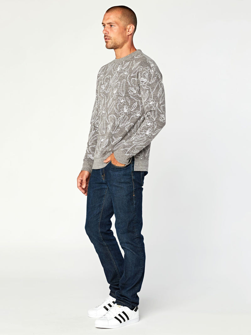 Brooks Lily Bud Triblend Pullover