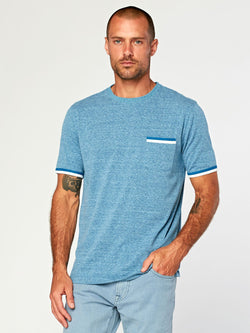 Laramie Triblend Pocket Tee Mens Tops Threads 4 Thought S Ceramic Spa