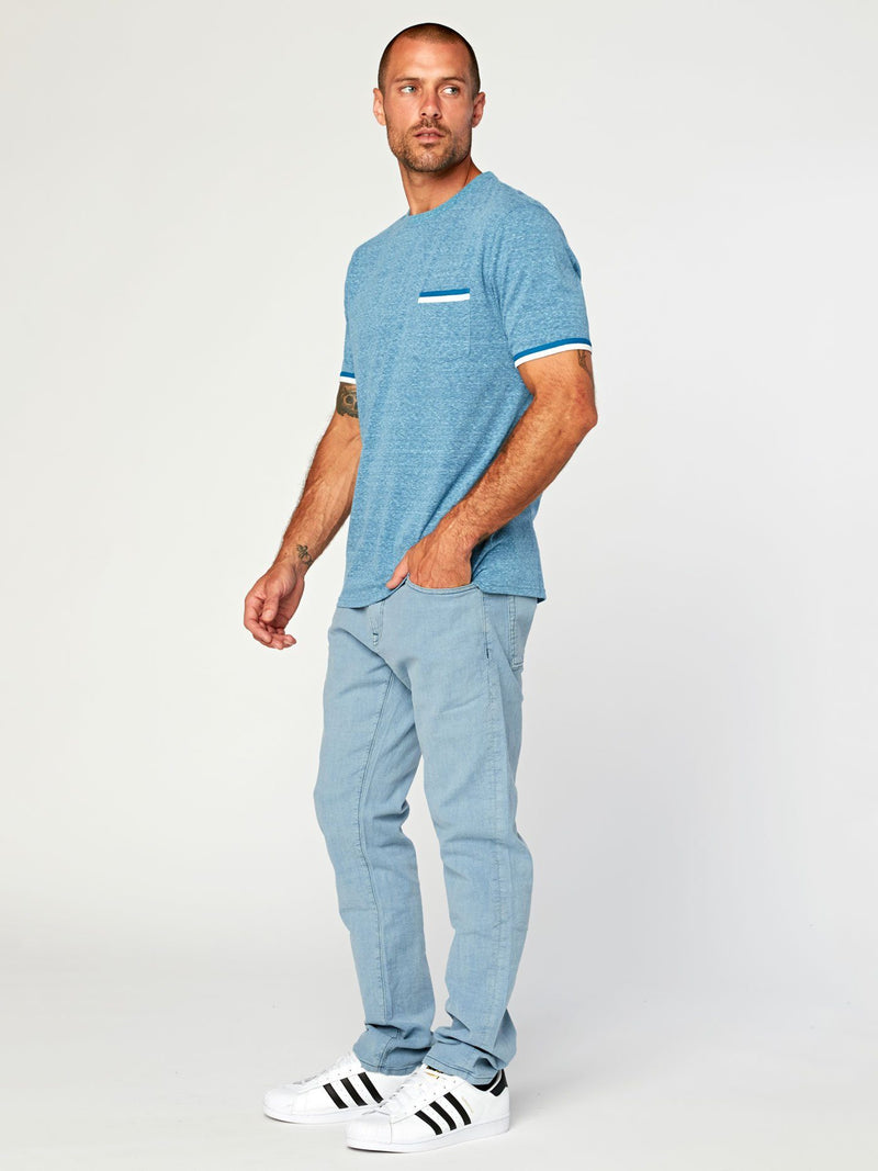 Laramie Triblend Pocket Tee
