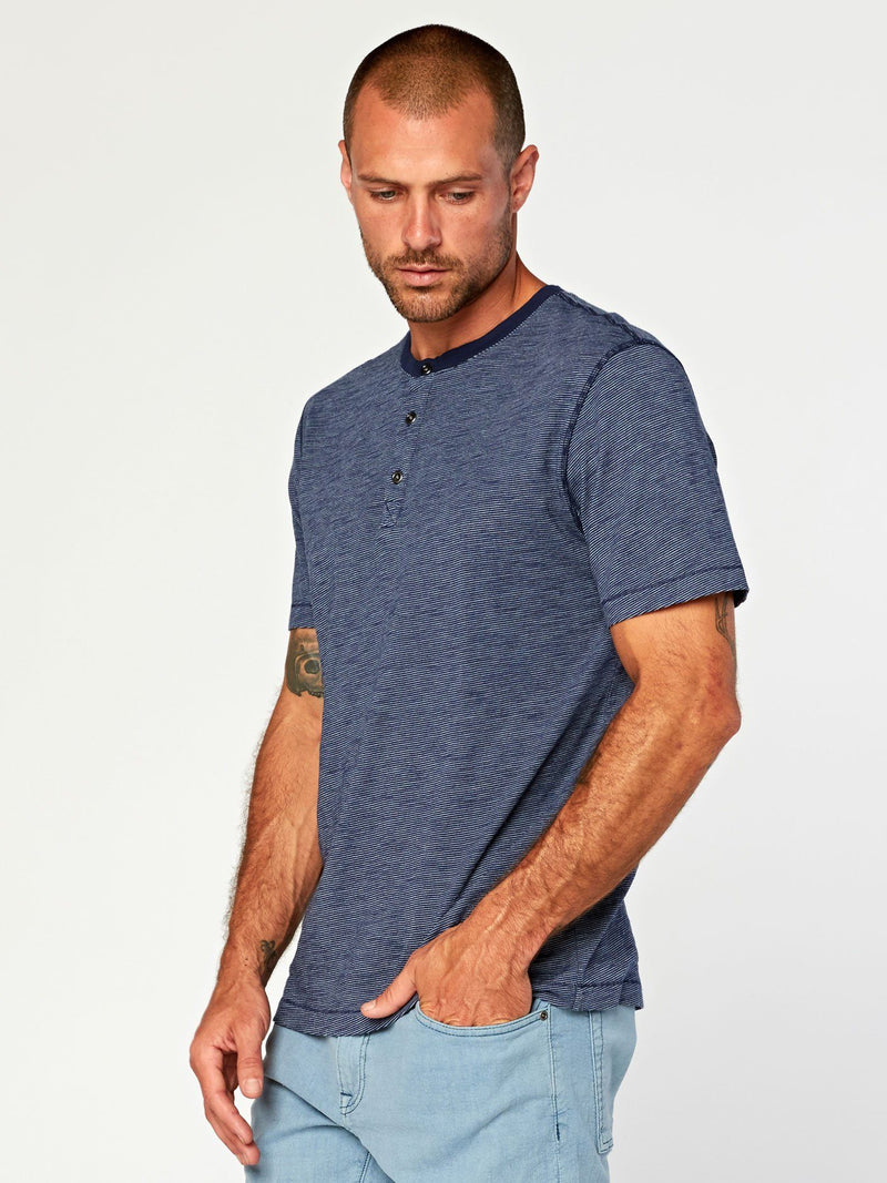 Geoff Slub Henley Mens Tops Threads 4 Thought