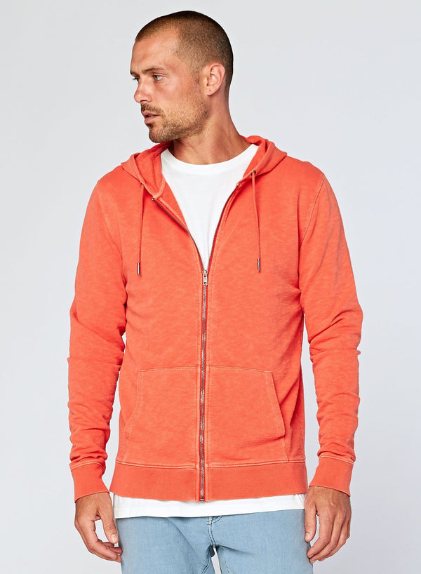Levi Zip Hoodie Mens Outerwear Jacket Threads 4 Thought S Terra Cotta