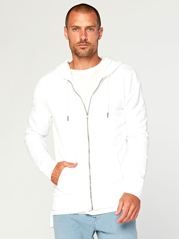 Levi Zip Hoodie Mens Outerwear Jacket Threads 4 Thought S White