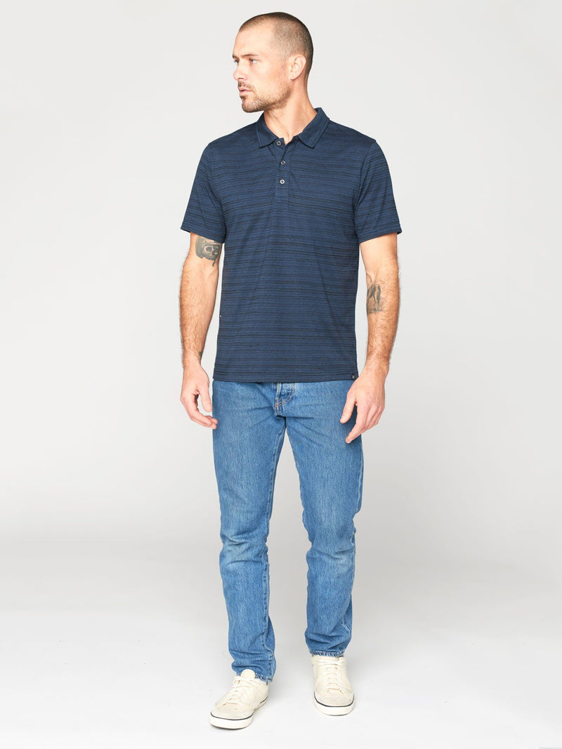 James Dirt Road Stripe Polo