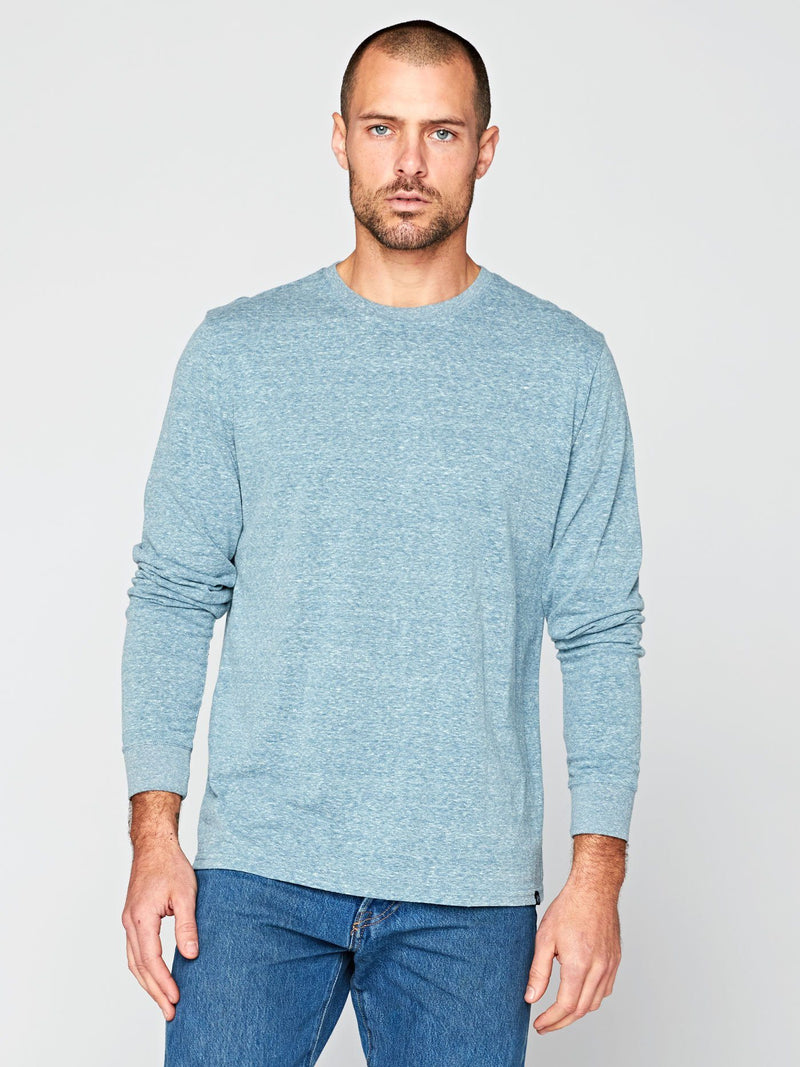 Long Sleeve Triblend Crew