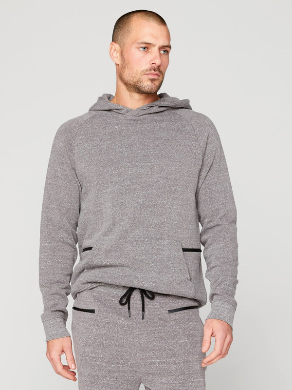 Fitzgerald Pullover Hoodie Mens Outerwear Sweatshirt Threads 4 Thought S Heather Grey