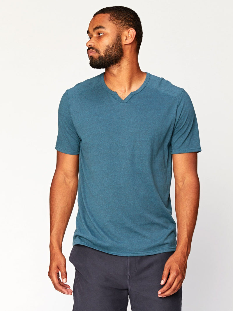 Notched Triblend Tee Mens Tops Threads 4 Thought L Fjord