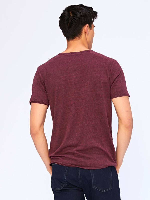 Notched Triblend Tee Mens Tops Threads 4 Thought