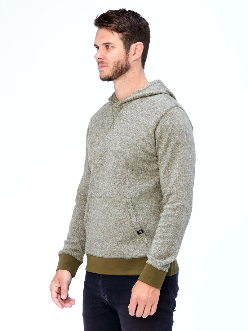 Brushed Knit Pullover Hoodie Mens Outerwear Sweatshirt Threads 4 Thought