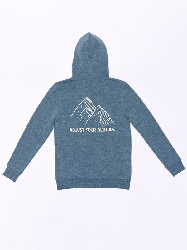 Adjust Your Altitude Pullover Hoodie Mens Outerwear Sweatshirt Threads 4 Thought