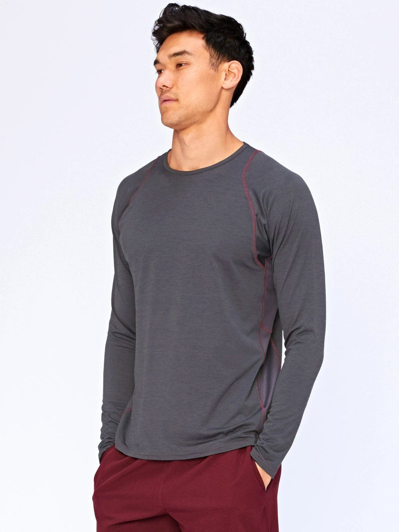 Ansel Long Sleeve Activective Top Mens Tops Threads 4 Thought