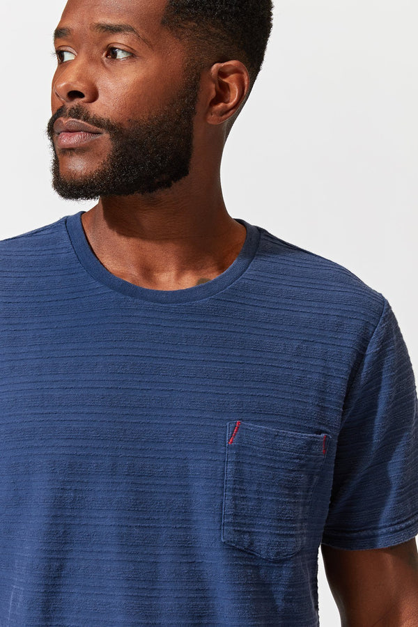 Colby Stripe Pocket Tee Mens Tops Tshirt Threads 4 Thought
