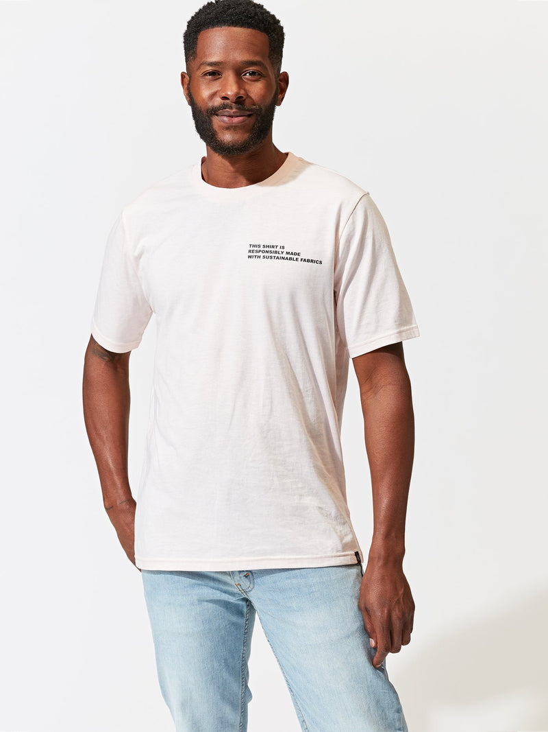 Responsibly Made Graphic Tee Mens Tops Tshirt Threads 4 Thought