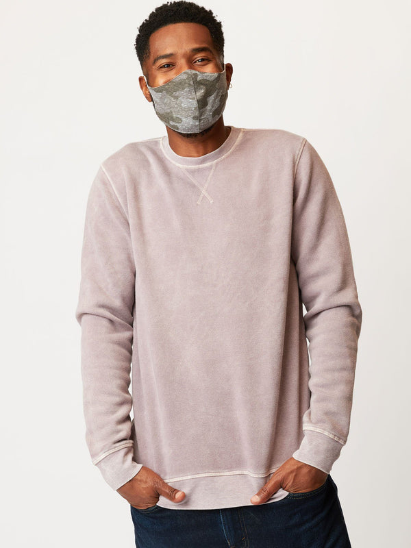 Mineral Wash Crew Neck Pullover Threads 4 Thought