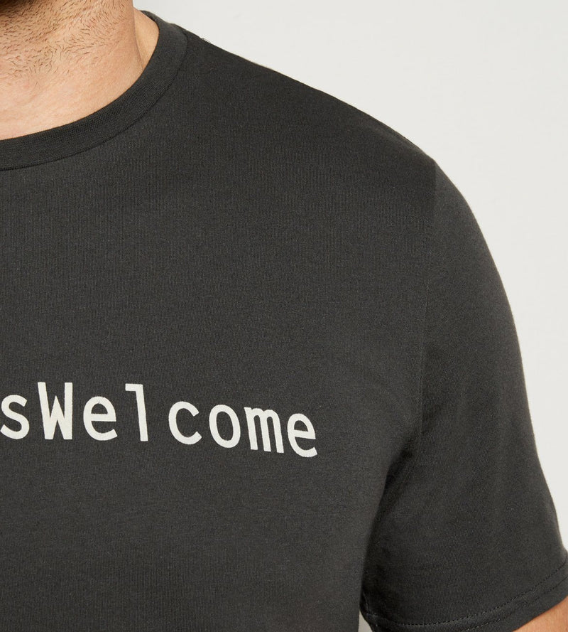 #RefugeesWelcome Tee Mens Tops Threads 4 Thought
