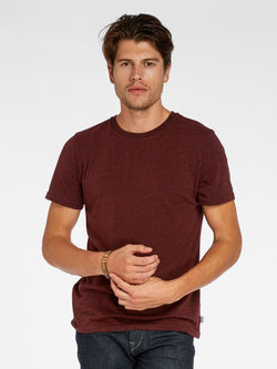 Triblend Crew Neck Tee Mens Tops Threads 4 Thought S Biking Red