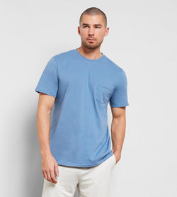 Baseline Crew Mens Tops Threads 4 Thought s Morrocan Blue