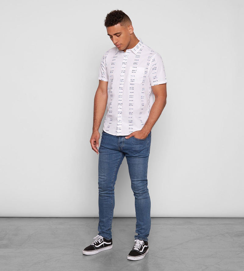 White Dots Standard S/S Shirt