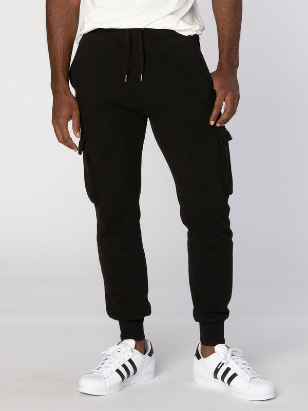 Major Jogger Mens Bottoms Threads 4 Thought S Black