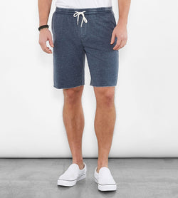 Dark Berry Baseline Burnout Wash Short
