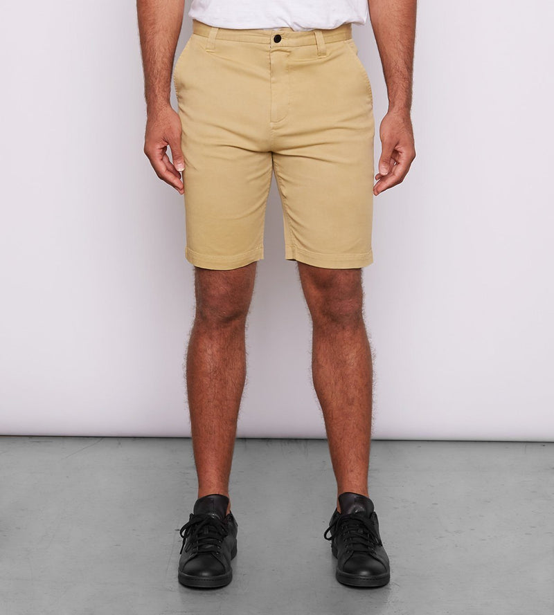 Khaki Water Repellant Chino Shorts