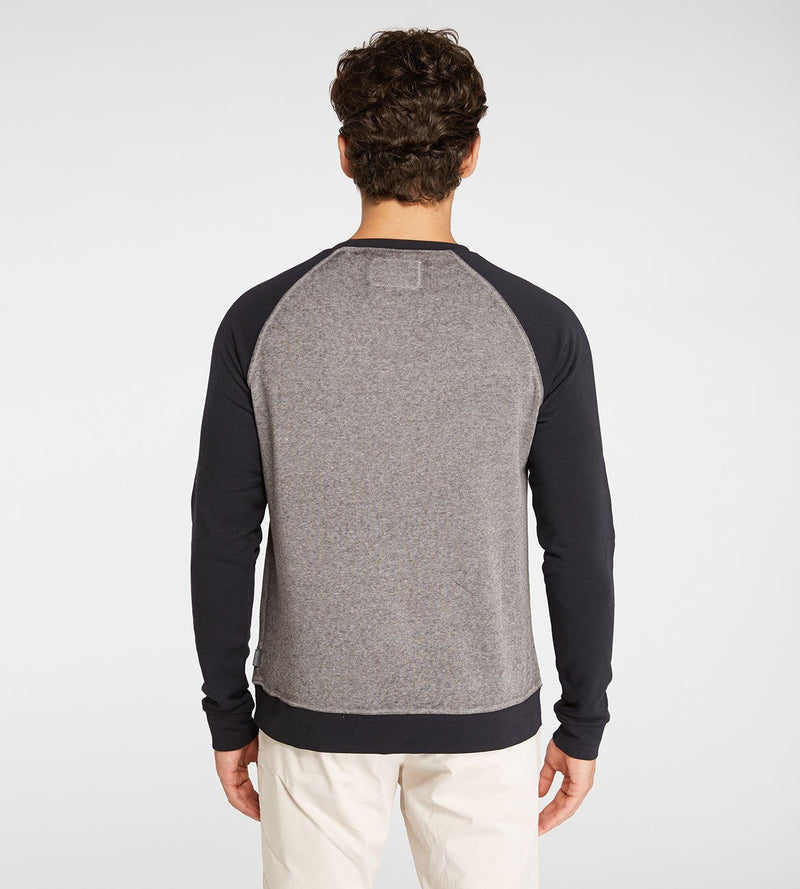 Burnout Wash Raglan Mens Outerwear Sweater Threads 4 Thought