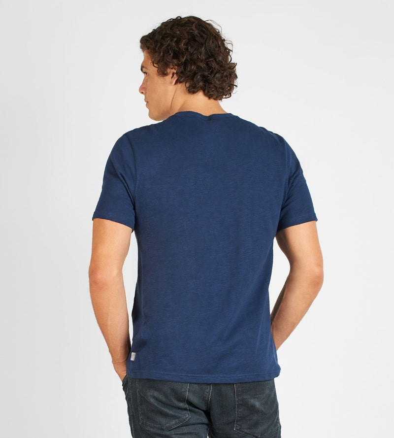 Short Sleeve Henley Mens Tops Threads 4 Thought