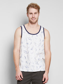 Baseline Tank Mens Tops Threads 4 Thought S Fish