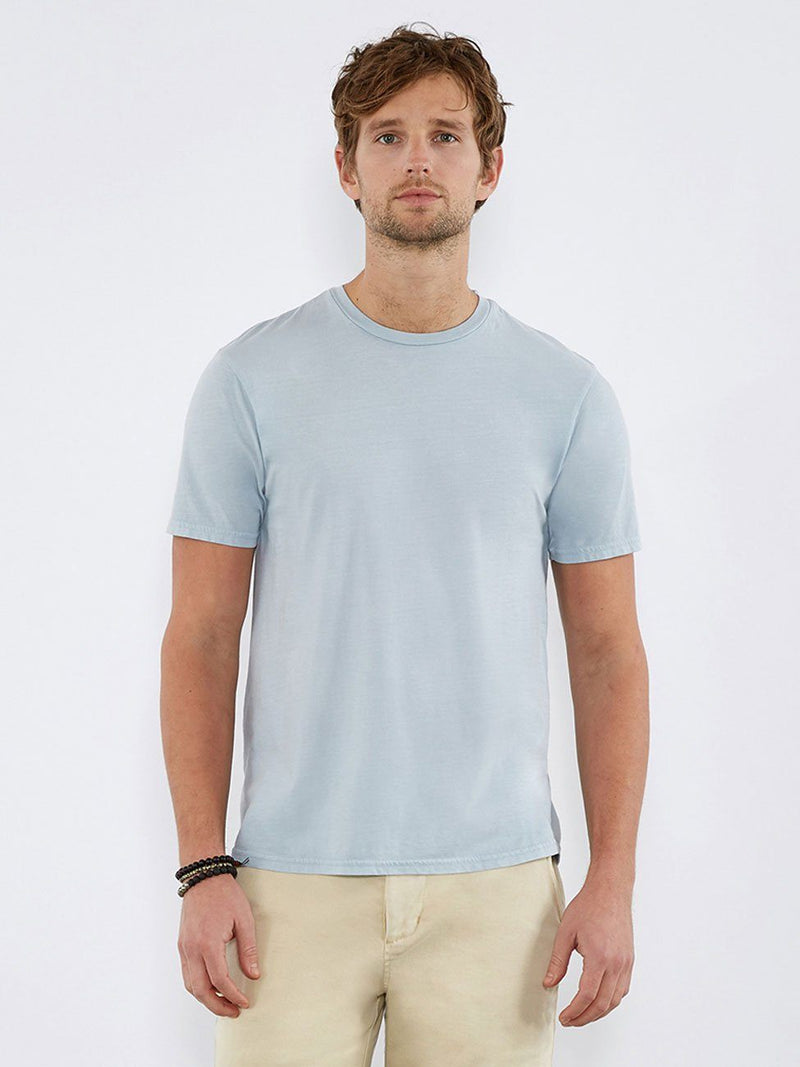 Standard Crew Neck Tee Mens Tops Threads 4 Thought S Ballad Blue