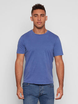 Standard Crew Neck Tee Mens Tops Threads 4 Thought S DEEP NAVY