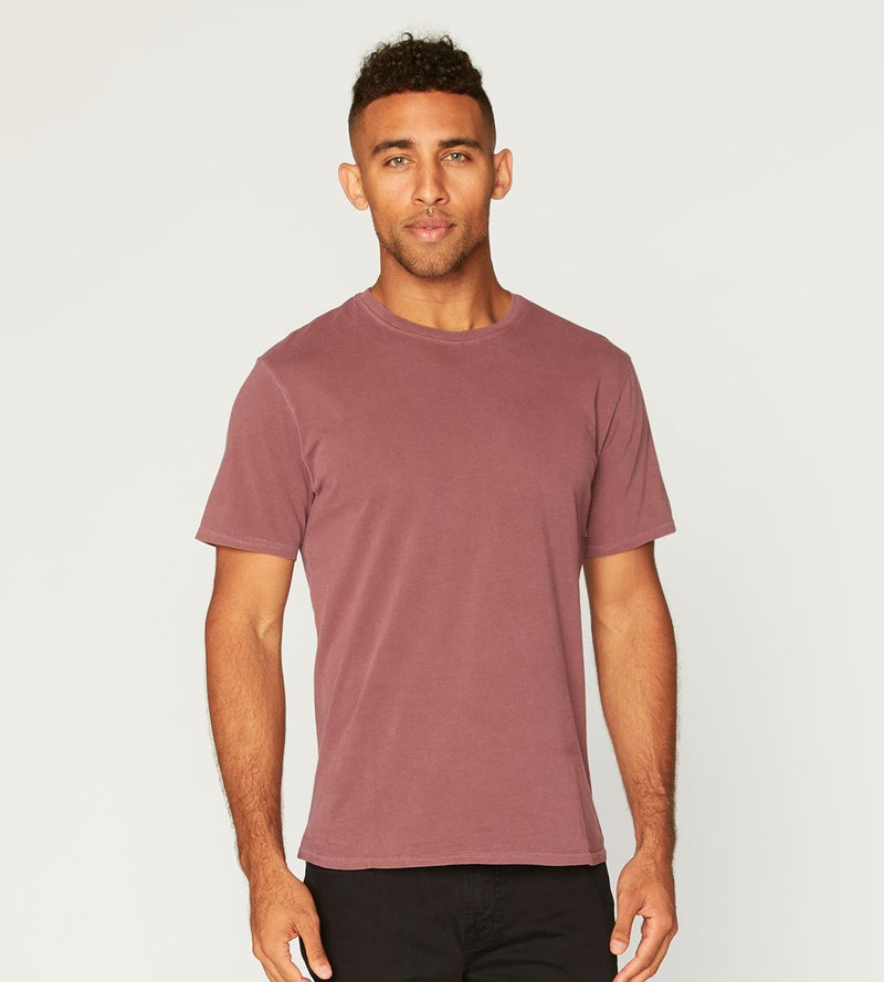 Standard Crew Neck Tee Mens Tops Threads 4 Thought s Syrah
