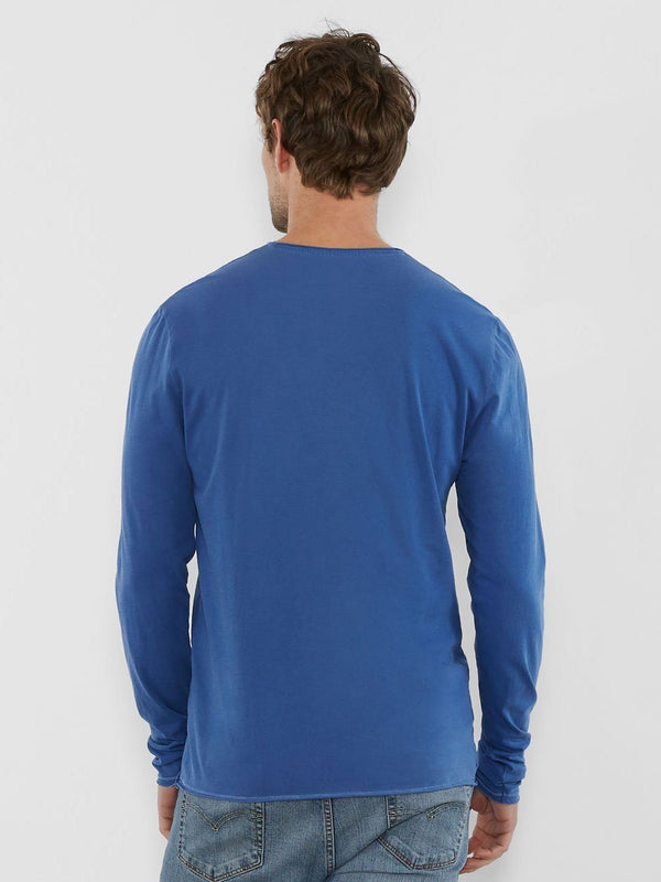 Standard Long Sleeve Henley Mens Tops Threads 4 Thought