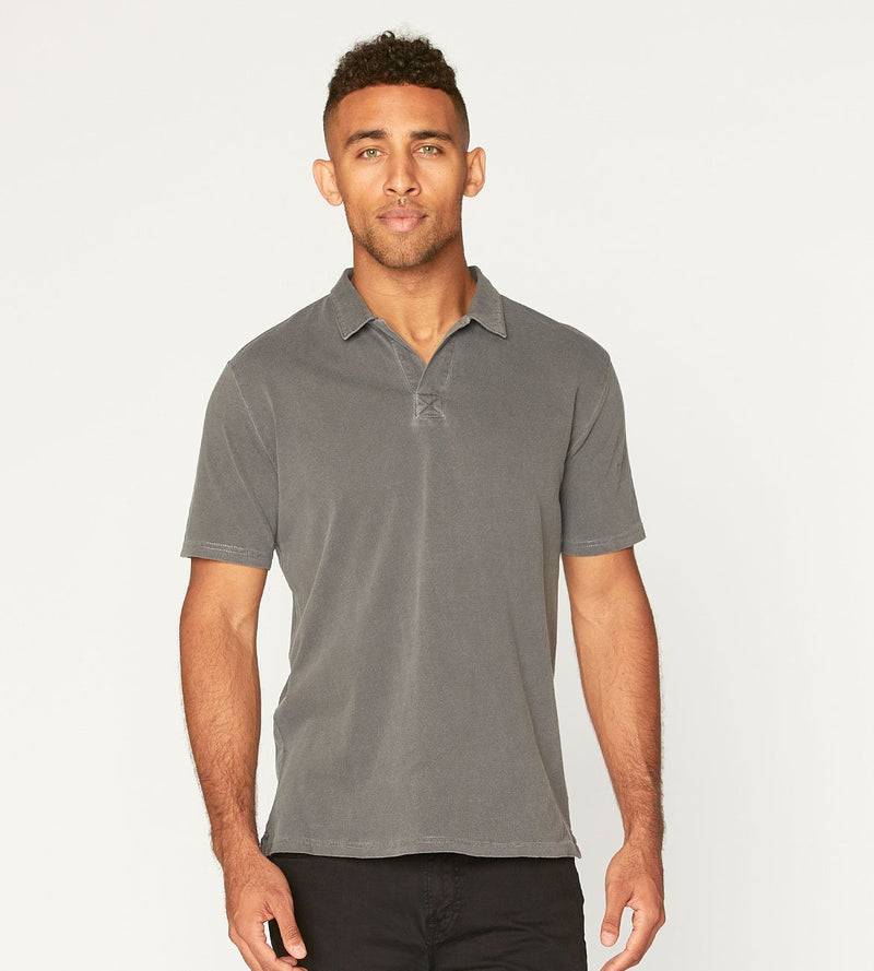 Dune Polo Mens Tops Threads 4 Thought s Quiet Shade