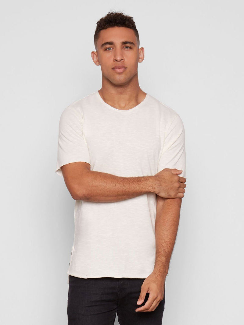Miles Tee Mens Tops Threads 4 Thought S Soft White