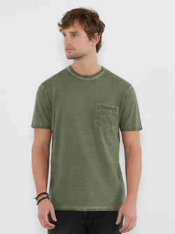 Rainwash Pocket Crew Mens Tops Threads 4 Thought S Army