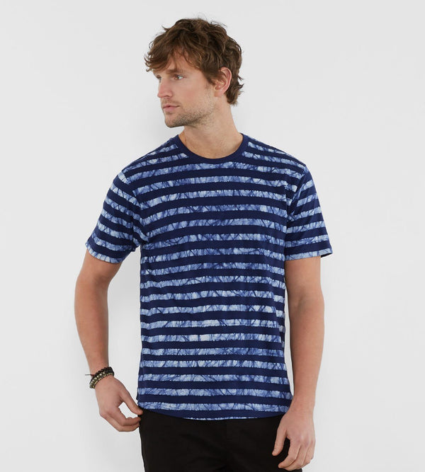 Barrett Tee Mens Tops Threads 4 Thought s Deep Navy