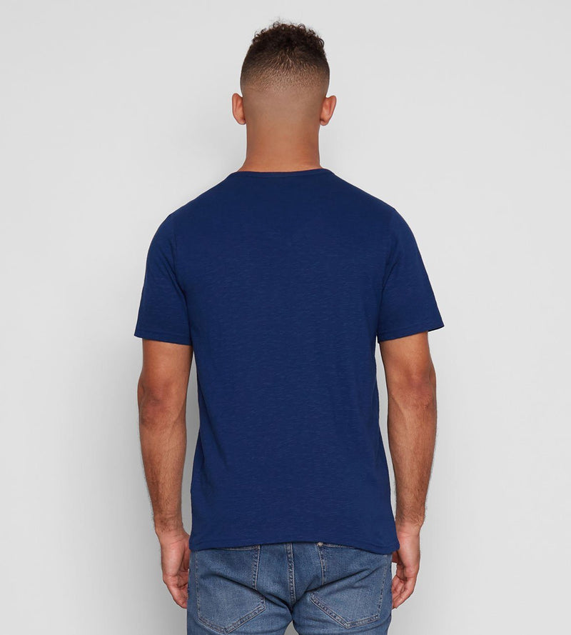 Deep Navy ROBERT V NECK