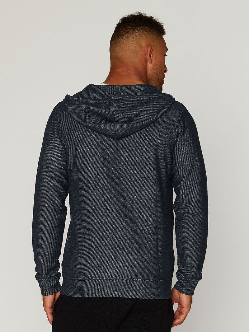 Radio Static Zip Hoodie Mens Outerwear Sweatshirt Threads 4 Thought